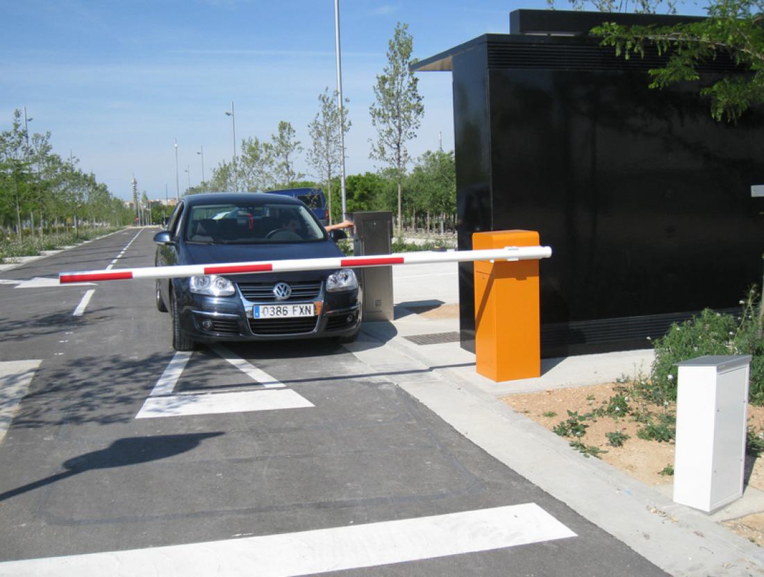 Control acceso vehículos - tecisa