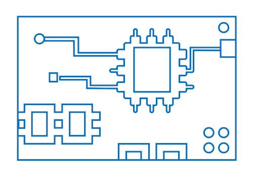 Electrónica de control de accesos TecSmart